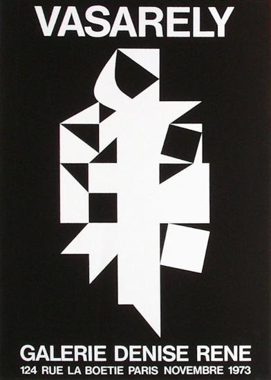 Expo 73 - Galerie Denise Ren?-Victor Vasarely-Collectable Print