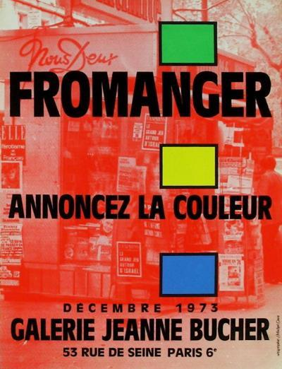 Expo 73 - Galerie Jeanne Bucher-G?rard Fromanger-Collectable Print