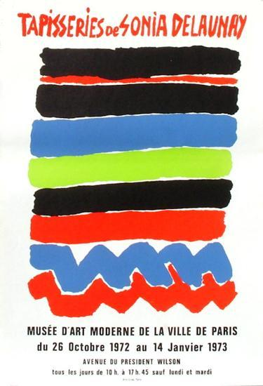 Expo 73 - Mus?e d'Art Moderne Tapisseries-Sonia Delaunay-Terk-Premium Edition