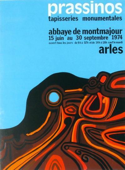 Expo 74 - Abbaye de Montmajour-Mario Prassinos-Collectable Print