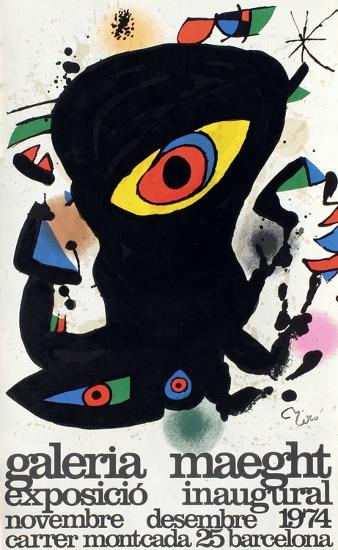 Expo 74 - Barcelona Inaugural-Joan Mir?-Collectable Print