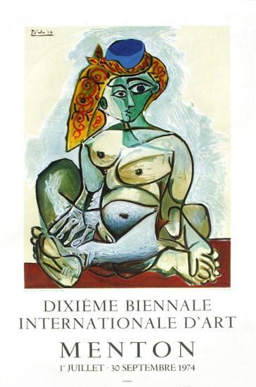 Expo 74 - Biennale de Menton-Pablo Picasso-Premium Edition