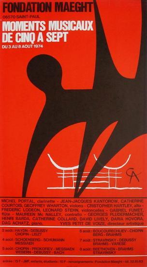 Expo 74 - Fondation Maeght-Alexander Calder-Premium Edition