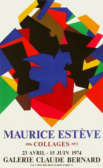 Expo 74 Galerie Claude Bernard-Maurice Esteve-Premium Edition