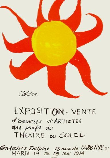 Expo 74 - Galerie Delpire-Alexander Calder-Premium Edition