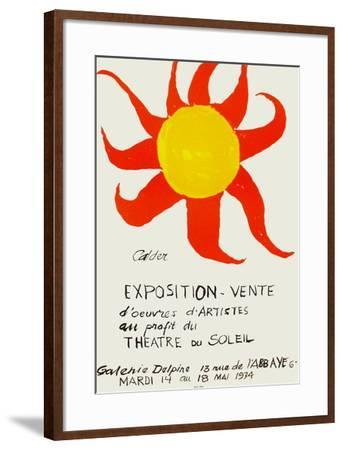 Expo 74 - Galerie Delpire-Alexander Calder-Framed Premium Edition