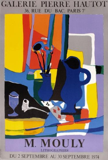 Expo 74 - Galerie Hautot-Marcel Mouly-Collectable Print