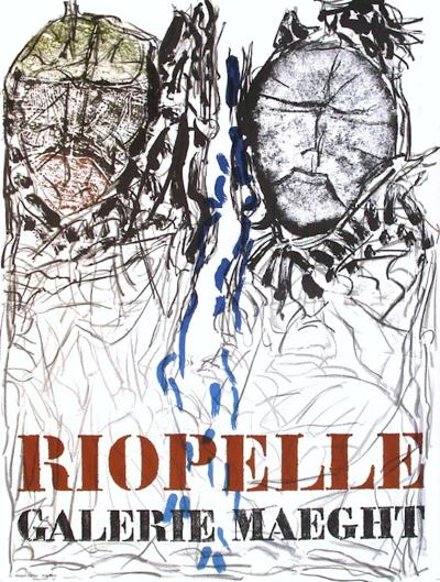 Expo 74 - Galerie Maeght-Jean-Paul Riopelle-Collectable Print