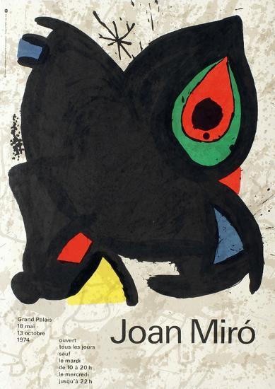 Expo 74 - Grand Palais-Joan Mir?-Collectable Print