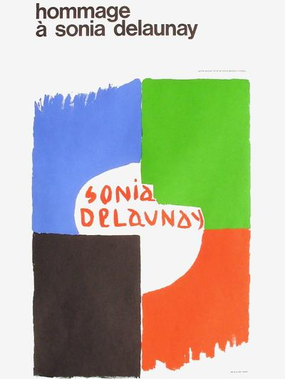 Expo 75 - Centre National Georges Pompidou-Sonia Delaunay-Terk-Collectable Print