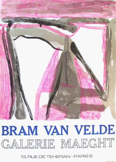 Expo 75 - Galerie Maeght-Bram van Velde-Collectable Print