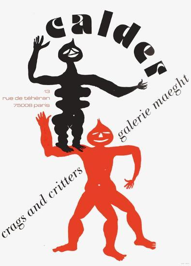 Expo 75 - Galerie Maeght-Alexander Calder-Collectable Print