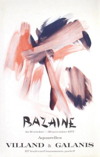 Expo 75 - Galerie Villand & Galanis-Jean Bazaine-Collectable Print