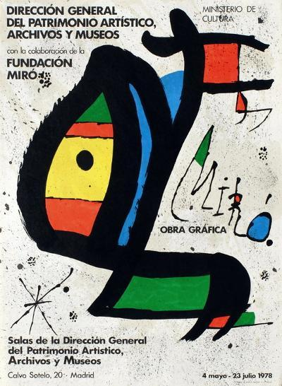 Expo 78 - Miro Obra Grafica Madrid-Joan Mir?-Collectable Print