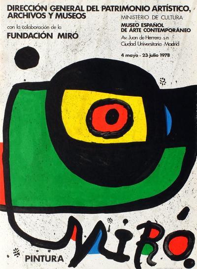 Expo 78 - Miro Pintura Madrid-Joan Mir?-Collectable Print