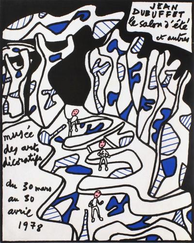 Expo 78 - Musée des Arts Décoratifs-Jean Dubuffet-Premium Edition