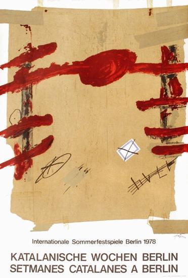 Expo 78 - Setmanes Catalanes a Berlin-Antoni Tapies-Premium Edition