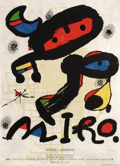 Expo 80 - Mexico-Joan Mir?-Collectable Print