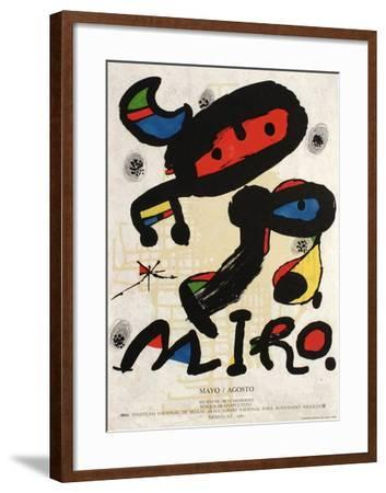 Expo 80 - Mexico-Joan Miro-Framed Collectable Print