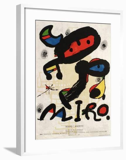 Expo 80 - Mexico-Joan Miro-Framed Collectable Print