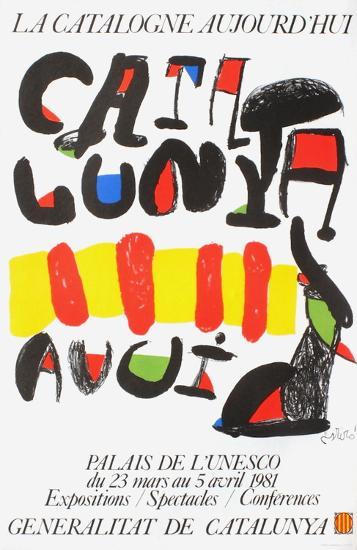Expo 81 - La Catalogne aujourd'hui-Joan Mir?-Premium Edition