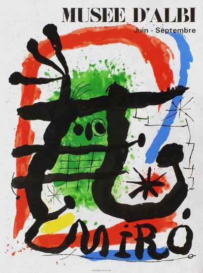 Expo 81 - Musée d'Albi-Joan Mir?-Collectable Print