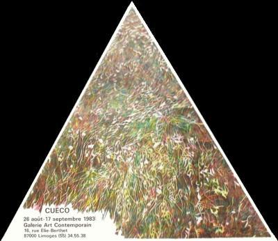 Expo 83 - Galerie Art Contemporain Limoges-Henri Cueco-Collectable Print
