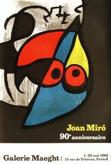 Expo 83 - Galerie Maeght 90e anniversaire-Joan Mir?-Collectable Print