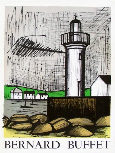 Expo 83 - Paysages-Bernard Buffet-Collectable Print