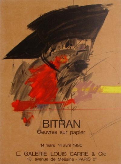Expo 90 - Galerie Louis Carr?-Albert Bitran-Collectable Print