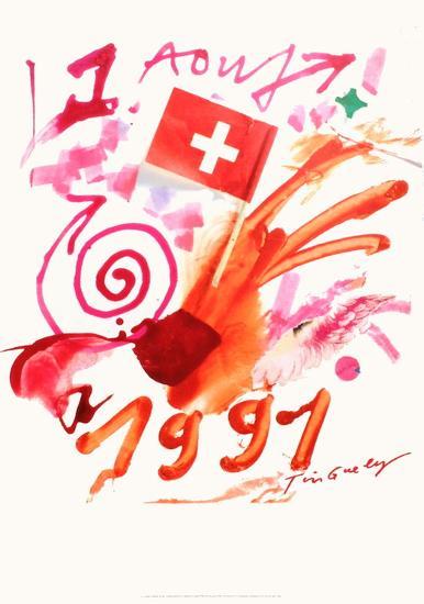 Expo 91 - 1er août 1991 (Suisse)-Jean Tinguely-Premium Edition