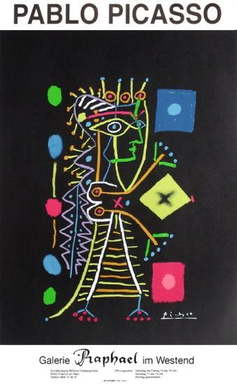 Expo 99 - Galerie Rapha?l im Westend-Pablo Picasso-Collectable Print