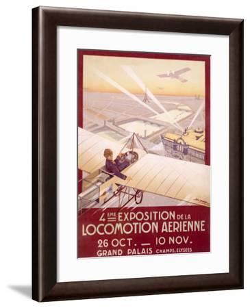 Expo Aerienne-Georges Dorival-Framed Giclee Print