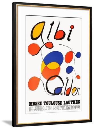 Expo Albi-Alexander Calder-Framed Premium Edition