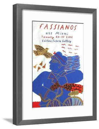 Expo Art Miami-Alexandre Fassianos-Framed Premium Edition