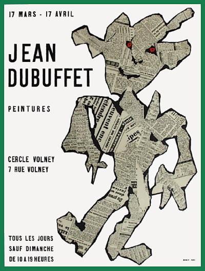 Expo Cercle Volney-Jean Dubuffet-Premium Edition