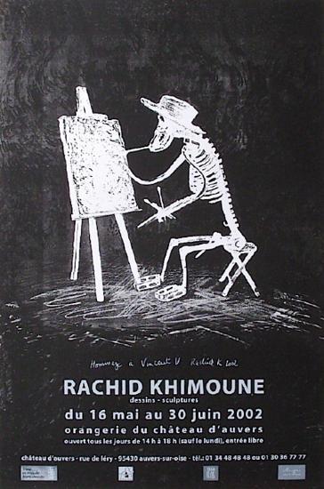 Expo Château D'Auvers-Rachid Khimoune-Collectable Print