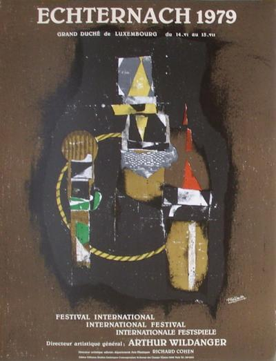 Expo Echternach-Johnny Friedlander-Collectable Print