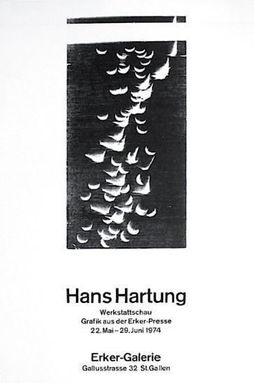 Expo Ecker Galerie-Hans Hartung-Premium Edition