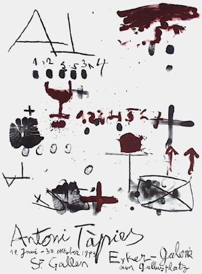 Expo Erker Galerie-Antoni Tapies-Premium Edition