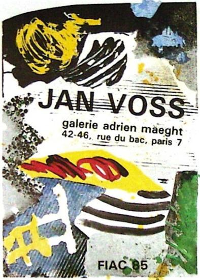 Expo FIAC 85-Jan Voss-Collectable Print