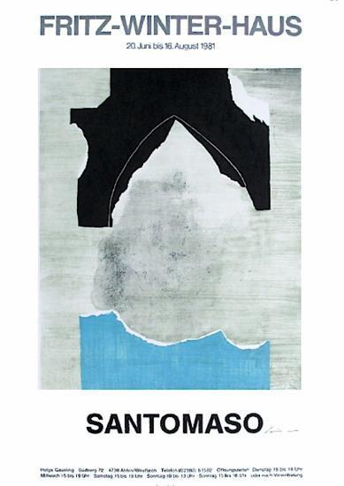 Expo Fritz Winter-Haus-Giuseppe Santomaso-Premium Edition