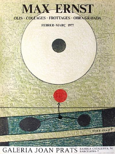 Expo Galeria Joan Prats-Max Ernst-Collectable Print