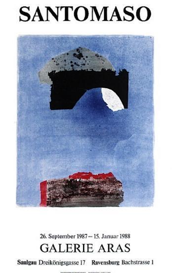 Expo Galerie Aras-Giuseppe Santomaso-Collectable Print
