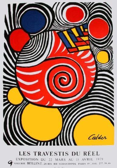 Expo Galerie BelIInt-Alexander Calder-Collectable Print