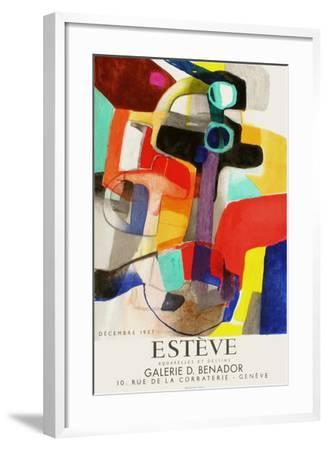 Expo Galerie Benador-Maurice Esteve-Framed Premium Edition