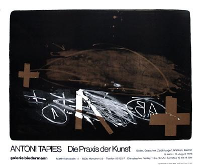 Expo Galerie Biedermann-Antoni Tapies-Premium Edition