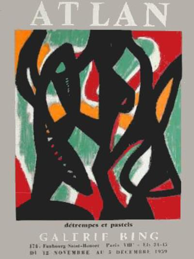 Expo Galerie Bing-Jean-michel Atlan-Premium Edition
