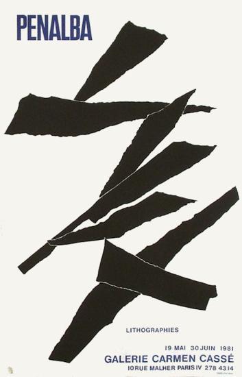 Expo Galerie Carmen Cass?-Alicia Penalba-Collectable Print