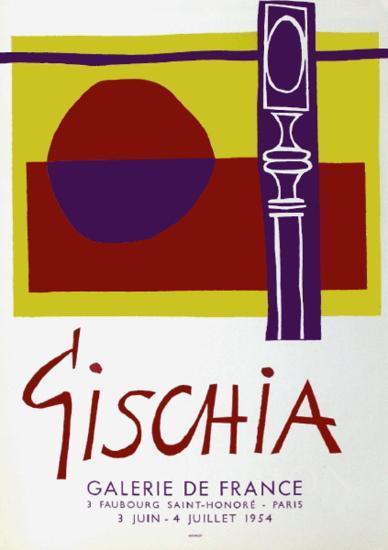 Expo Galerie De France-L?on Gischia-Collectable Print
